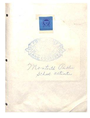 Monteith WI Tweedsmuir Community History, Volume 5: Public School