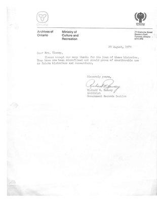 Monteith WI Tweedsmuir Community History, Volume 7: Correction Centre