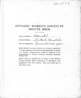 Ullswater WI Minute Book, 1947-51