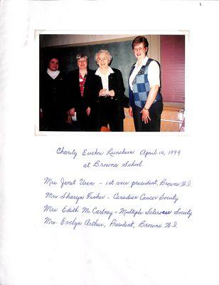 Browns WI Tweedsmuir Community History, Volume 7, 1998-2000