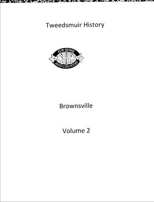 Brownsville WI Tweedsmuir Community History, Volume 2