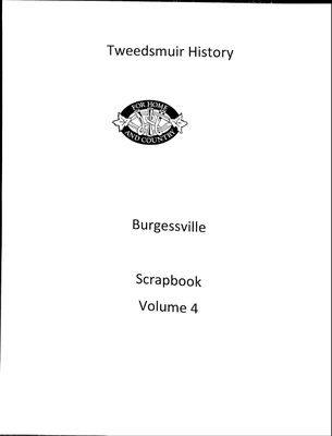 Burgessville WI Tweedsmuir Community History, Volume 4, 1971