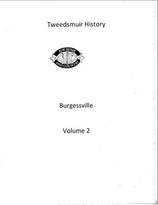 Burgessville WI Tweedsmuir Community History, Volume 2