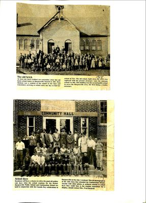 Burgessville WI Tweedsmuir Community History, Volume 7
