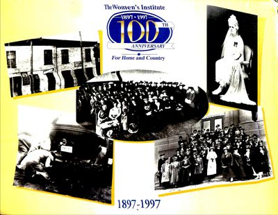 Women's Institute Centennial Calendar 1997