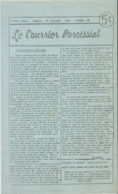 Le Courrier Paroissial 52