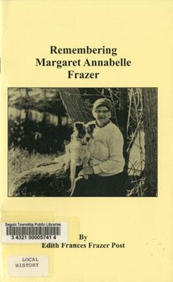 Remembering Margaret Annabelle Frazer