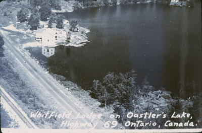 Aerial Shot of the Whitfield Lodge