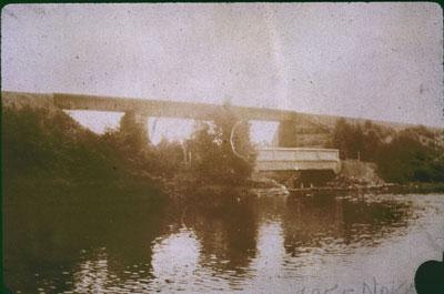 C.P.R. Bridge at Otter Lake