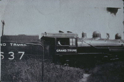 Grand Trunk Engine 637