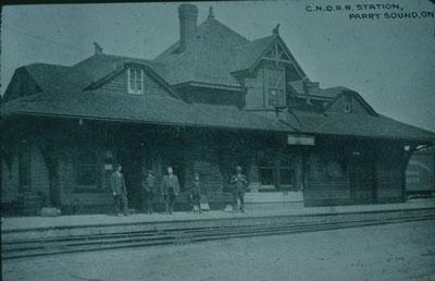 C.N.O.R.R. Station Parry Sound