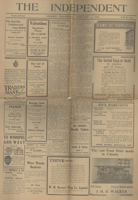 Grimsby Independent, 1 Feb 1911