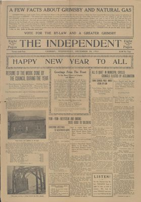 Grimsby Independent, 30 Dec 1914
