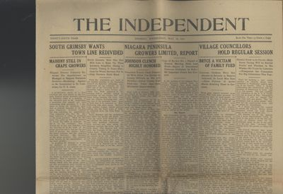Grimsby Independent, 18 May 1921