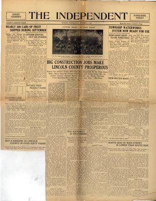 Grimsby Independent, 4 Oct 1922