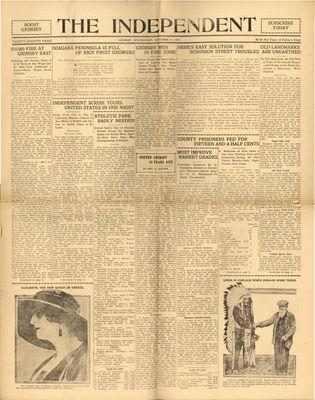 Grimsby Independent, 11 Oct 1922