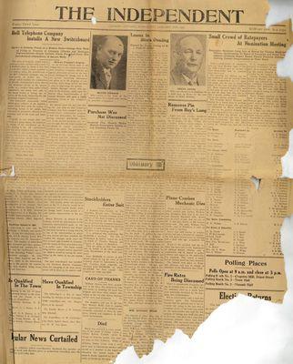 Grimsby Independent, 2 Jan 1929