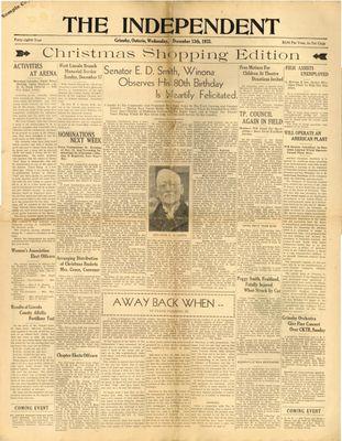 Grimsby Independent, 13 Dec 1933