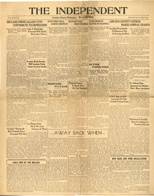 Grimsby Independent, 28 Mar 1934