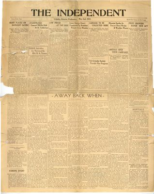 Grimsby Independent, 2 May 1934