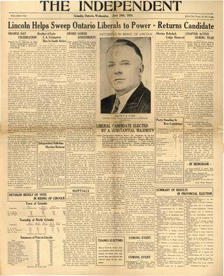 Grimsby Independent, 20 Jun 1934