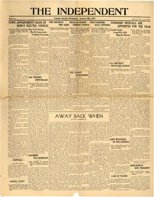 Grimsby Independent, 16 Jan 1935