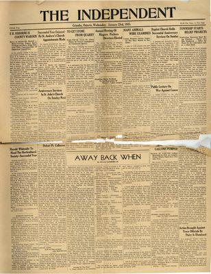 Grimsby Independent, 23 Jan 1935