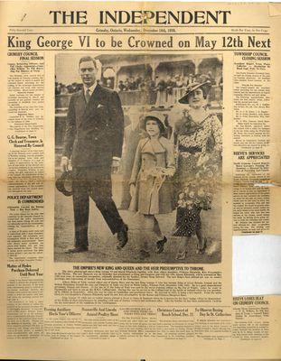 Grimsby Independent, 16 Dec 1936
