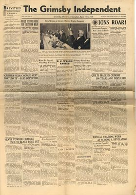 Grimsby Independent, 14 Apr 1938