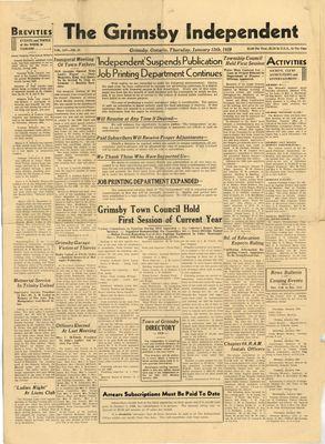 Grimsby Independent, 12 Jan 1939