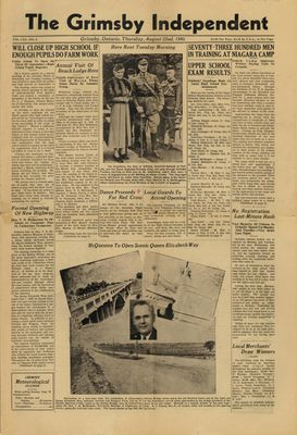 Grimsby Independent, 22 Aug 1940