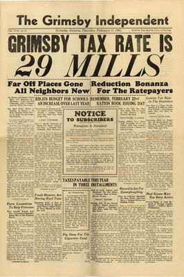 Grimsby Independent, 11 Feb 1943