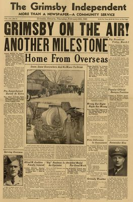 Grimsby Independent, 8 Feb 1945