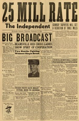 Grimsby Independent, 15 Feb 1945