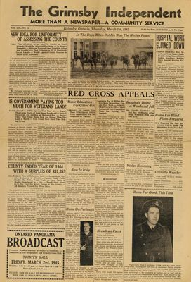 Grimsby Independent, 1 Mar 1945