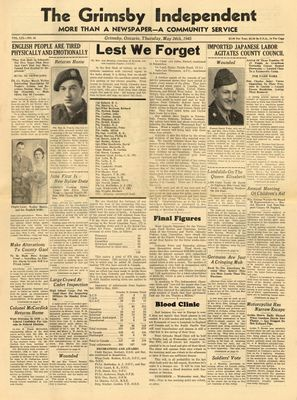 Grimsby Independent, 24 May 1945