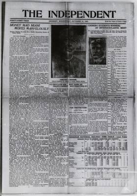 Grimsby Independent, 14 Oct 1925