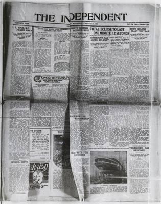 Grimsby Independent, 14 Jan 1926