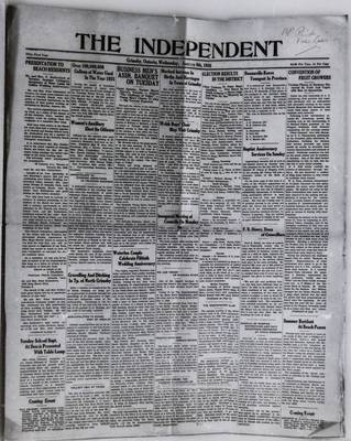 Grimsby Independent, 8 Jan 1936