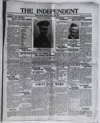 Grimsby Independent, 29 Jan 1936