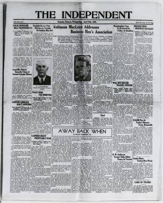 Grimsby Independent, 29 Apr 1936