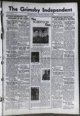 Grimsby Independent, 2 Dec 1943
