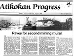 Mining Mural-The Atikokan Progress (1992)
