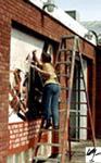 The Cutting Edge Mural - Heather Schmutzer (1992)