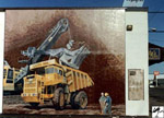 The Lectra Haul-The First Mural, (1991)