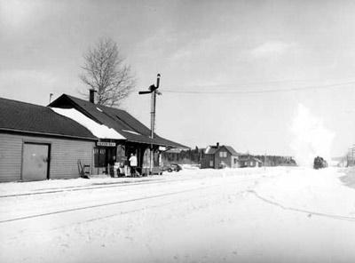 CPR Station - Heron Bay (~1949)