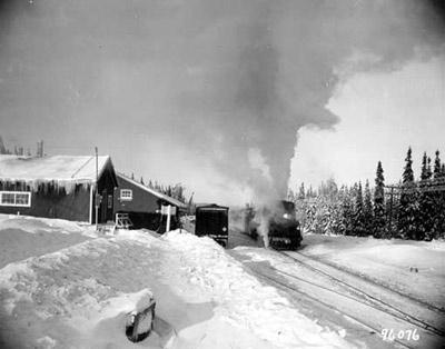 CNR Station - Stevens Ont.(~1947)