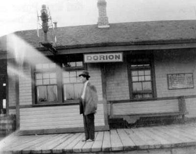 C.P.R. Station Master - Mr. Grant