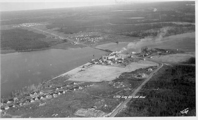Little Long Lac Mine and Townsite (~1937)