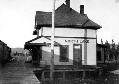 North Lake Station -'Pee Dee Railway'